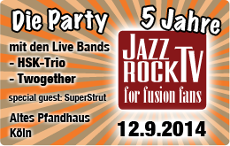 Get Tickets for the JazzrockTV Party