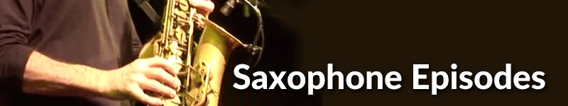 Episode Category Saxophone