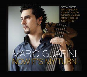 Italian session bass player MARIO GUARINI releases album featuring VINNIE COLAIUTA, MICHAEL LANDAU, SIMON PHILLIPS, RICHARD BONA, MIKE STERN