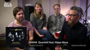 New JazzrockTV episode released – KAMA Quartett with Interview and Live Session