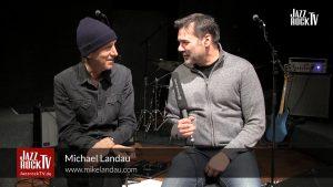 New JazzrockTV episode MICHAEL LANDAU with concert and interview