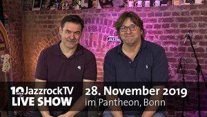 10-Jahre JazzrockTV LIVE SHOW – Line-Up