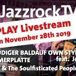 10-Jahre JazzrockTV LIVE SHOW – Livestream