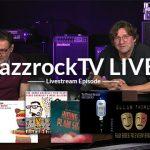 JazzrockTV LIVE – Bierdeckelfragen und Musik
