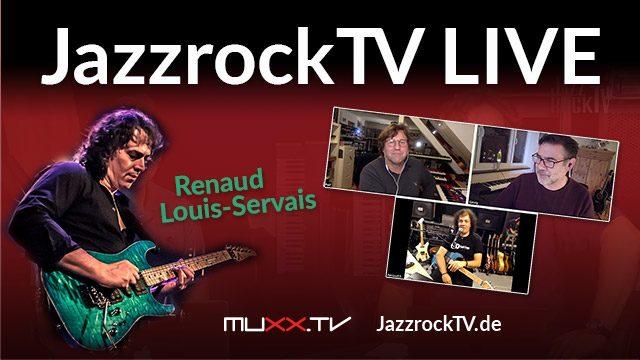 JazzrockTV-Livestream Renaud Louis-Servais