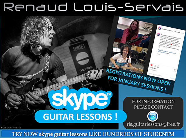 Renaud Louis-Servais Lessons